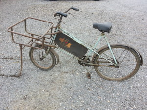 Old trade bike before its repaint
