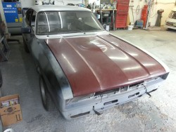 Capri mk3 to be resprayed