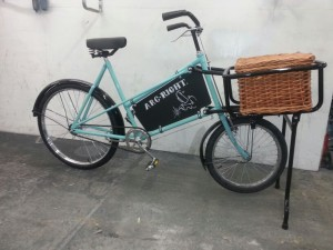 old trade bike resprayed