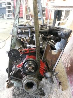Removal of capri engine