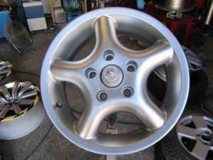 alloy wheel repair nearly complete