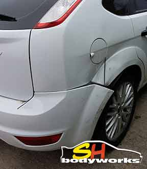 car bumper repair